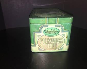 Vintage Pickwick Thee tin