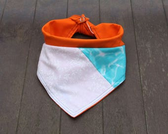 Reversible Water Reflection Bandana, Scarf, Baby bib, Personalised Gift