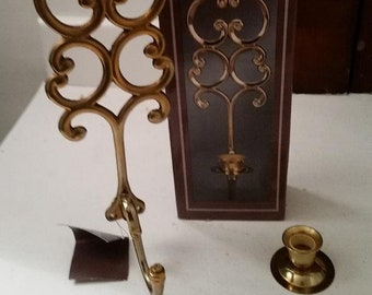 Solid Brass Sconce