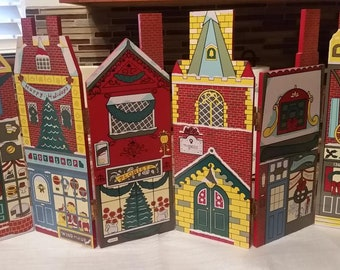 Wooden Christmas Town Gate