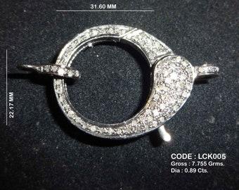 Diamond clasp