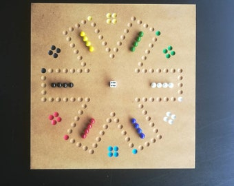 Wahoo etsy six 6 player wahoo aggravation or carbles game great family game many hours of fun maxwellsz