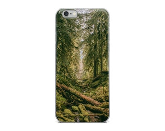 Beautiful Green Forest / Trees iPhone Case - iPhone 6, 6s, 6 Plus, 6 s Plus, 7, 7 Plus, 8, 8 Plus, X