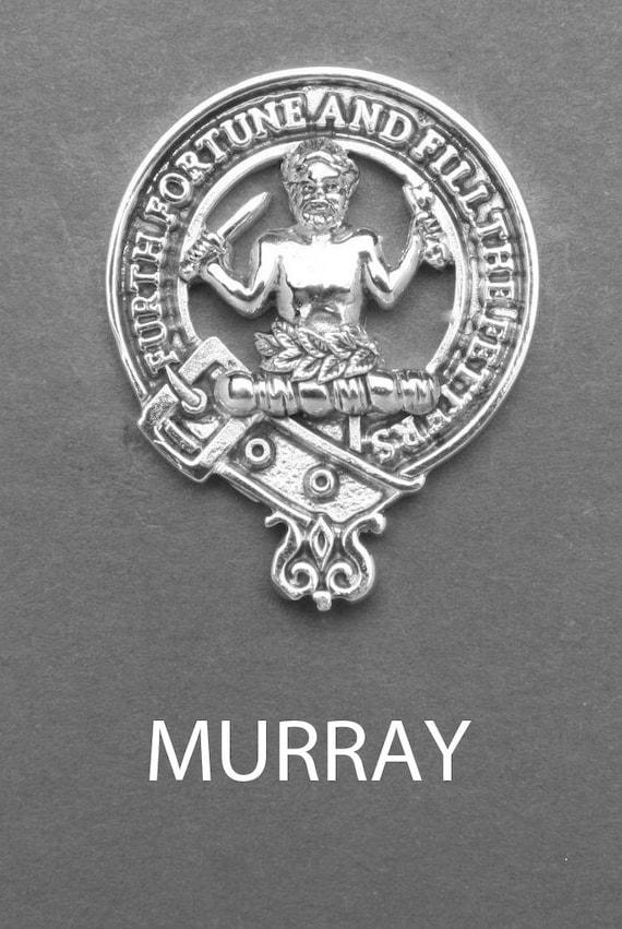 Handmade Gift Boxed H Scottish Clan Mackintosh Crest Necklace English Pewter