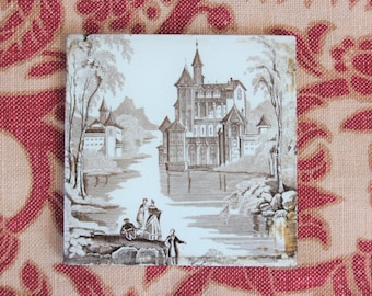Antique Tile Etsy