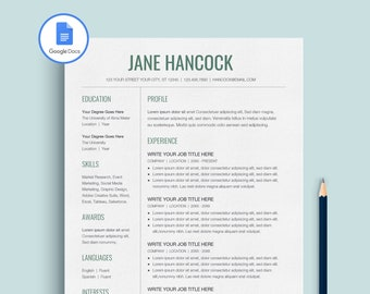 google docs resume google docs cv google docs resume template google docs resume template instant download resume template google docs - Google Docs Resume