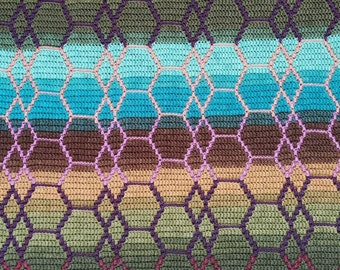 Dragonheart - Overlay Mosaic Crochet PATTERN ONLY  - Digital Download