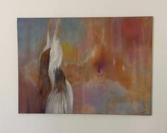 Woman, figurative art, figurative art, symbolic, intuitive, original