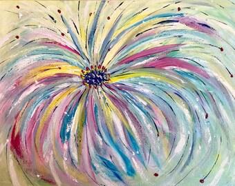 Original Abstract Painting Canvas Art Decor Wall decor Abstract Study Painting Artwork