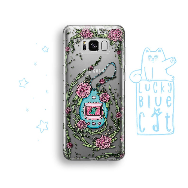 7c7b7c1348 Tamagotchi LG G6 G5 Phone Case Samsung Galaxy Note 9 8 Case   Etsy