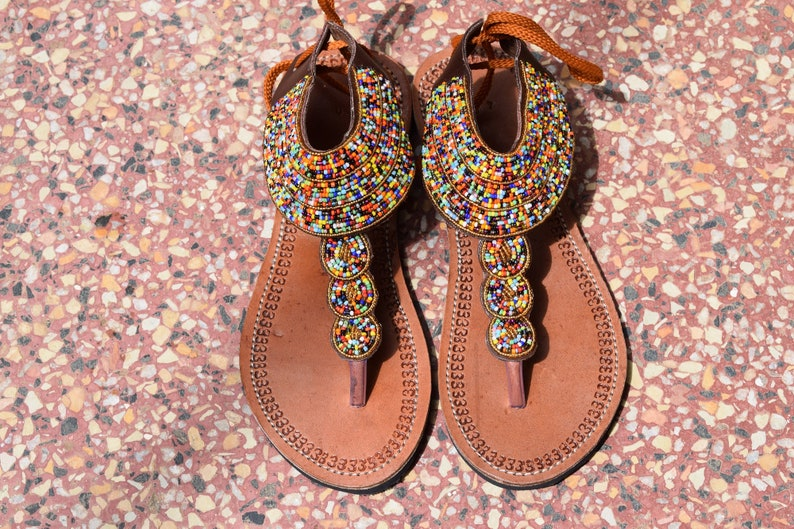 eb7a5ec91dff African Clothing for Women Sandy sandals Desert sandals