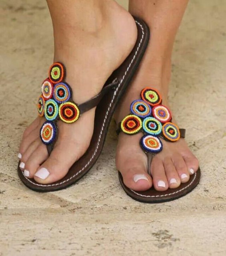 2b3b6c8bd391 Reef sandy sandals for women Handmade summer reef flip flops
