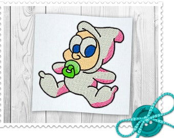 Baby Machine Embroidery Design - 3 Sizes