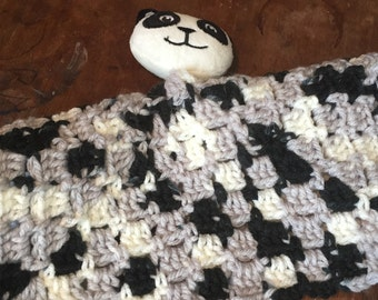 Panda Lovey Blanket