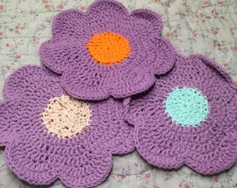 Set of 3 washcloths