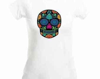 Personalized T-shirt * skull *.