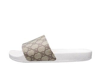 308fc86d02846e Gucci GG Slide Sandals