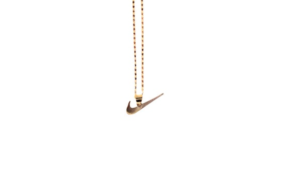 The Swoosh Necklace   Gold Plated by Etsy