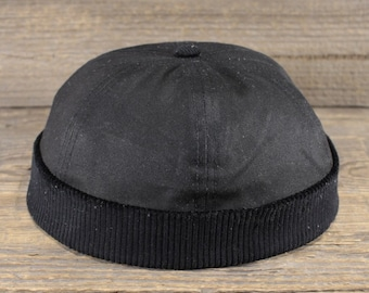 34b5e975338a84 Docker Cap - Wax Corduroy Combination - Handcrafted in Berlin.