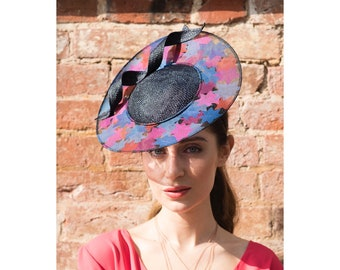 Nevada- Organza Star Hat with Swirl