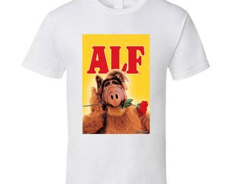 46cc81f6582 Alf Top 80's Vintage Tv Show Cool Retro Fan T Shirt