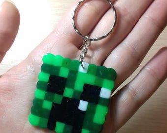 Creeper Head Keychain (Minecraft)
