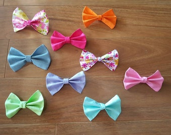 Large bow hair clip, hair clip, hair accessory, girl accessory, baby shower gift, photo shoot hair accessory