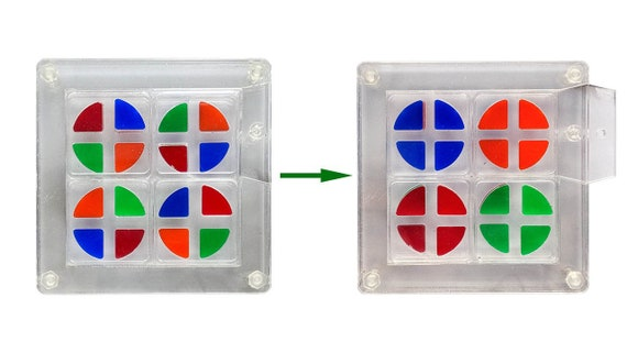 Transpa - Moving puzzle multi-faces trou.