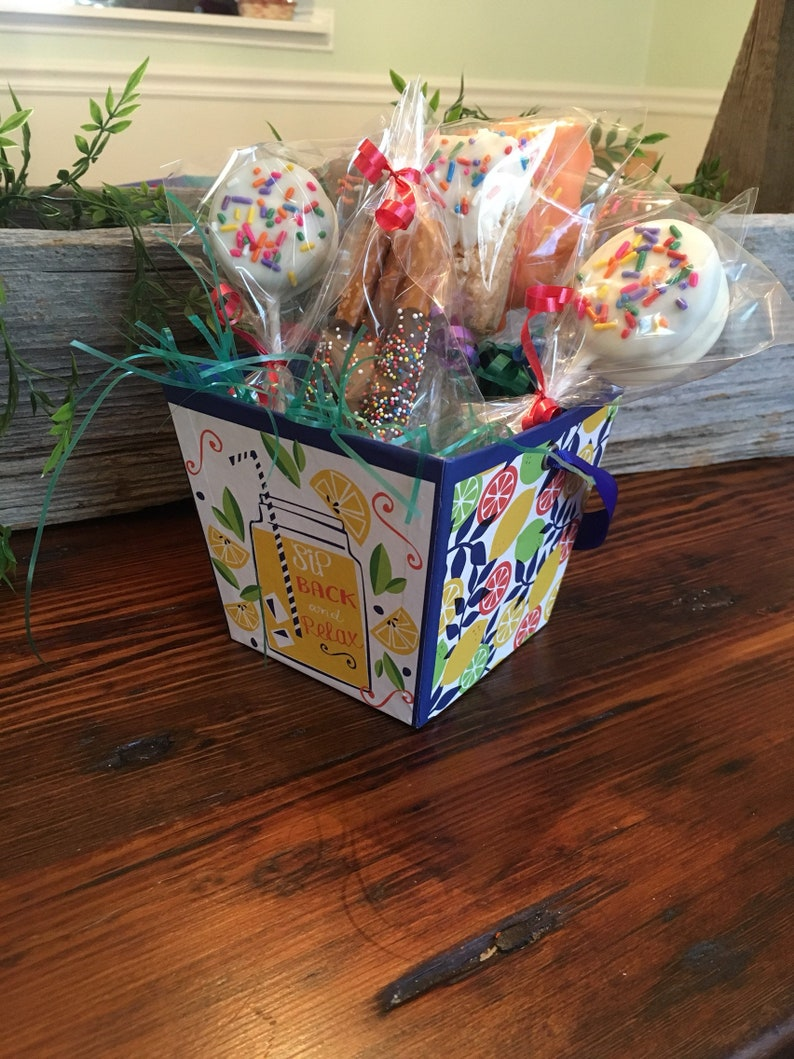 Chocolate Gift Basket Candy Birthday Gifts