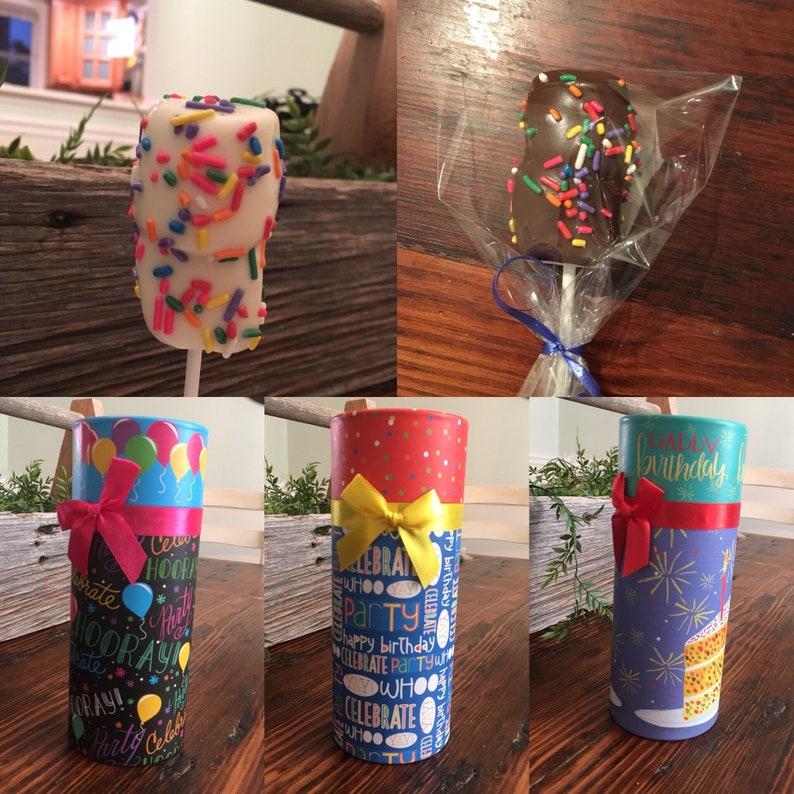 Chocolate Marshmallow Birthday Gift Box Ideas