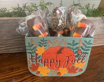 Happy Fall Halloween Gift Basket - Halloween Candy - Halloween Gifts