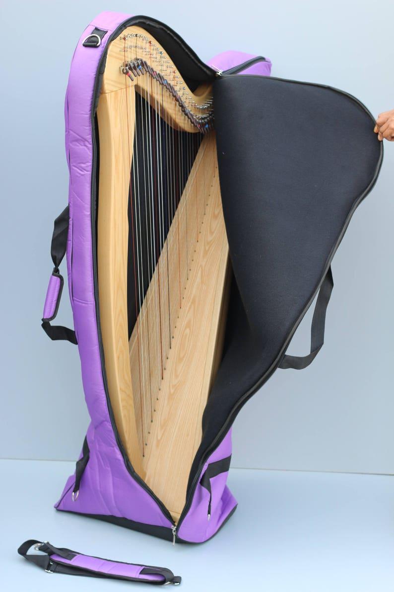 Aster 34 Strings Lever Harp
