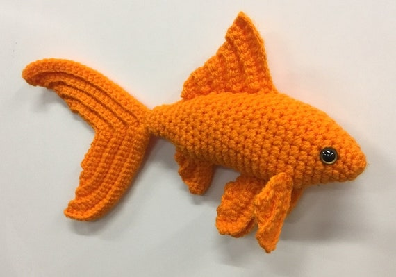 Ravelry: Fancy Goldfish Amigurumi pattern by Kate Wood | 399x570