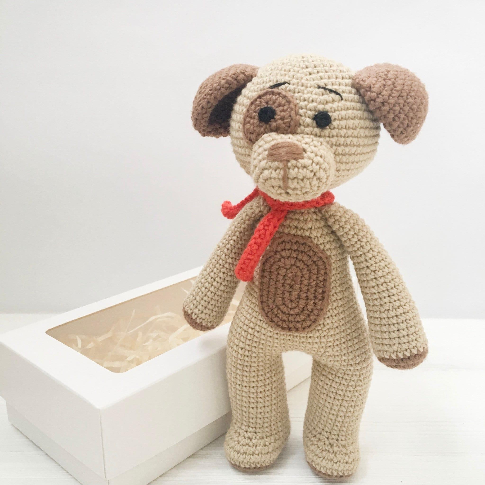 Amigurumi sweet dog pattern | Amiguroom Toys | 2048x2048