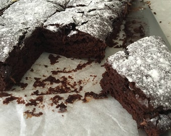 Handmade Brownie Mix: free-from milk, eggs and nuts
