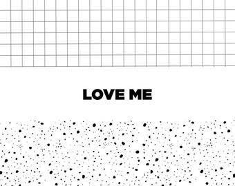 LOVE ME POSTCARD