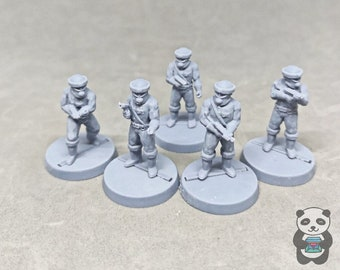 Blakes 7 Federation troopers (5)