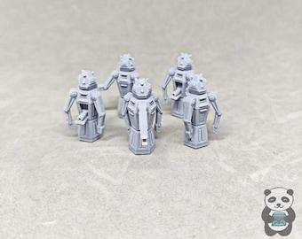 Blakes 7 Security Robots (5)