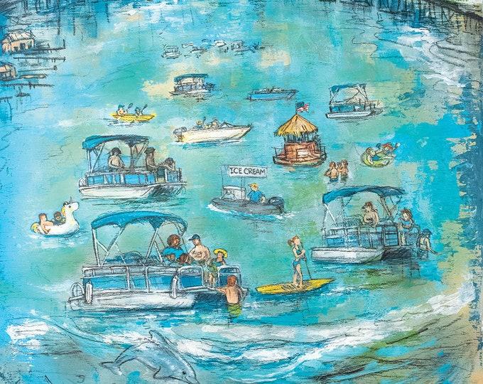 Featured listing image: Crab Island - Destin, Florida (Print)