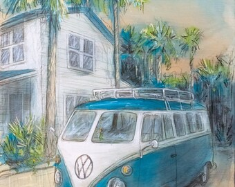 Surf Bus (Print)