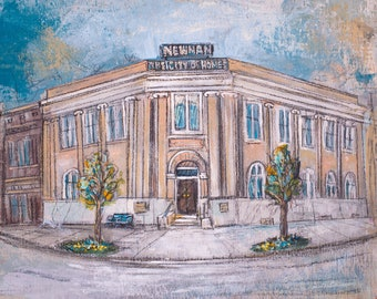 Newnan Carnegie Library (print)