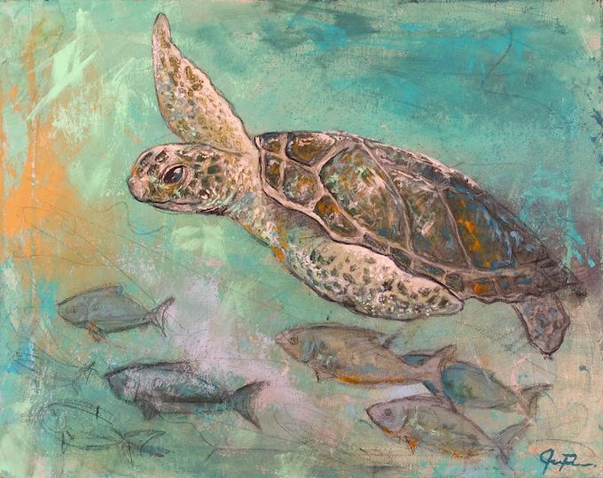 Featured listing image: Sea Turtle (Print)