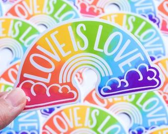 Love is Love Sticker / Gay Pride Stickers /  Lesbian Transgender Bisexual Sticker