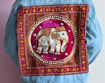 Elephant Spirit Jacket - Pink