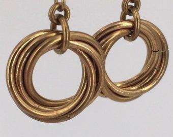 Infinity Mobius Earrings
