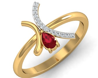 GEMSTONE GOLD RINGS