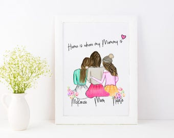 Gifts for mom from daughter | Etsy