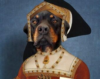 Jane Seymour, Custom Pet Portraits, Dog or Cat Portrait, Digital personalized portrait painting, using your Pet's Photo