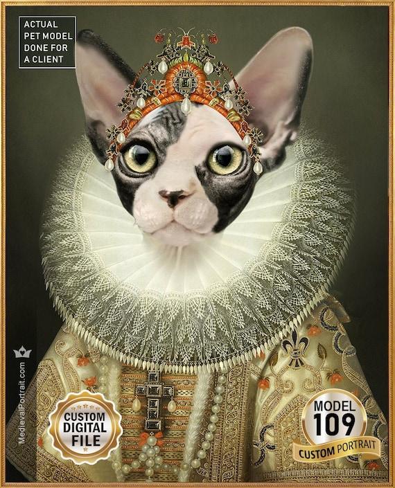 """J/'aime mon chat Cadre Photo Pet Maison Cadeau 6 X 4/"""" Amour animal"""