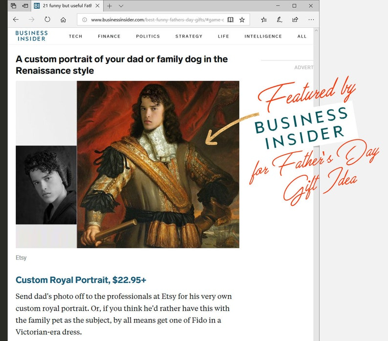 5feb5da48 Your cat on famous painting historical portrait Gift for men | Etsy